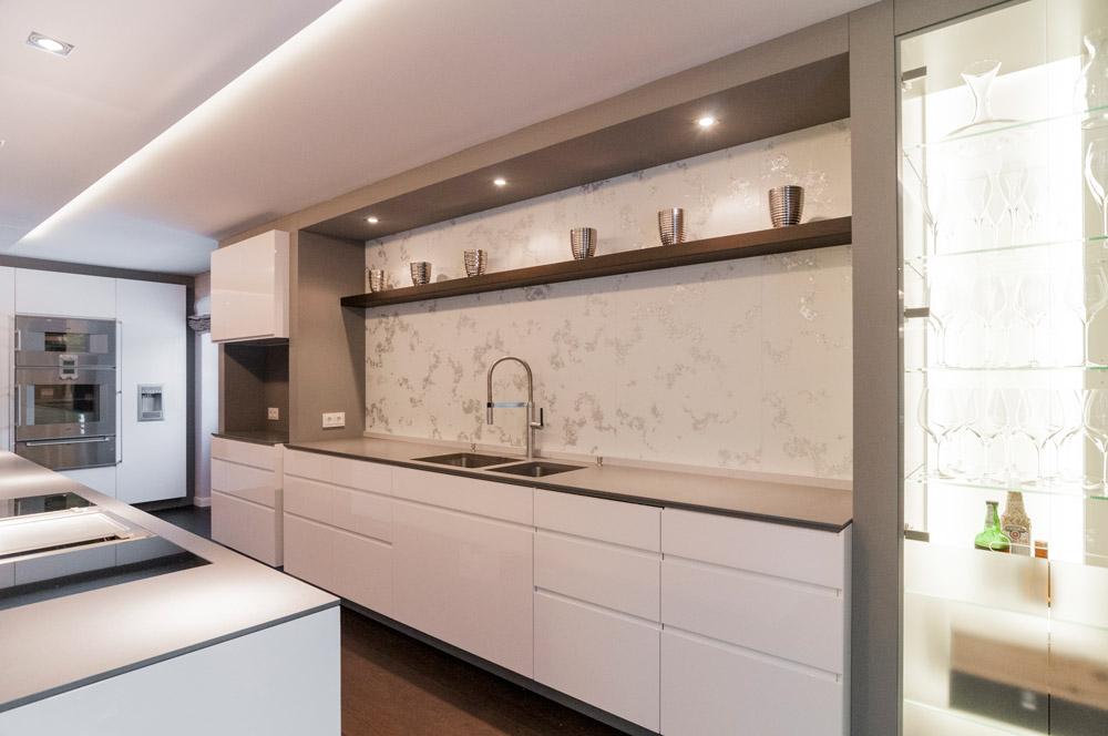 Wertstatt Schreinerei Abendschein Küche In Weiß